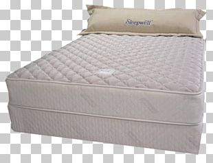 Mattress Pads Bed Frame Box-spring Bed Size PNG