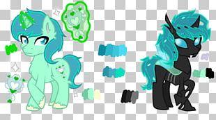 Horse Illustration Product Design Green PNG
