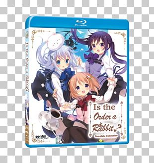 Blu-ray Disc Is The Order A Rabbit? DVD Anime PNG