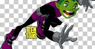 Beast Boy Raven Starfire Cyborg Robin PNG