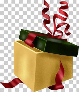Birthday Gift Christmas Ribbon Party PNG