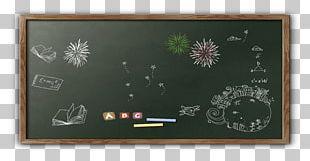 Blackboard Classroom PNG