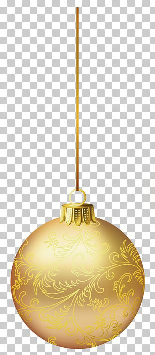Lighting Christmas Ornament Design PNG