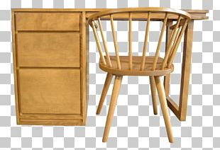 Bedside Tables Chair Mid-century Modern Furniture PNG