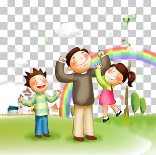 Family Happiness Father PNG