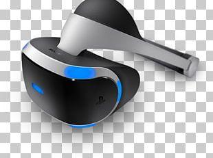 PlayStation VR PlayStation 4 Virtual Reality Headset PNG