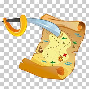 Treasure Map Piracy Buried Treasure PNG