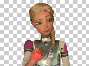 Barbie Human Hair Color Doll Brown Hair Long Hair PNG