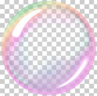 Soap Bubble Sphere PNG