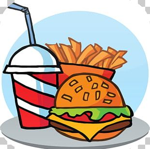 Fast Food Restaurant Junk Food French Fries Hamburger PNG