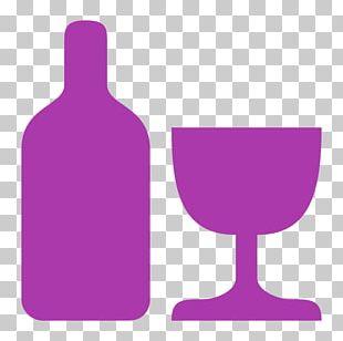 Purple Violet Lilac Glass Bottle Magenta PNG
