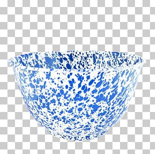Bowl Blue And White Pottery Tableware PNG