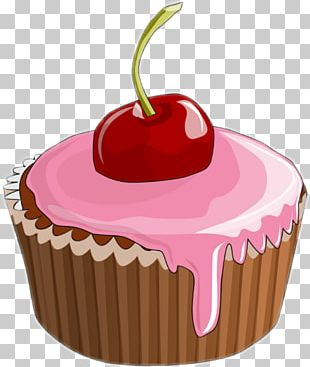 Cupcake Frosting & Icing Muffin Dessert PNG