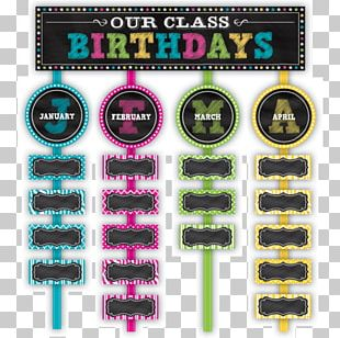 Bulletin Board Classroom Birthday Blackboard Teacher PNG
