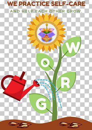 Sunflower M Video Floral Design Illustration PNG