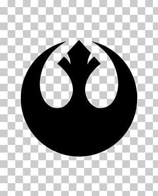 Rebel Alliance Star Wars Logo Jedi Decal PNG