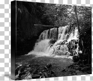 Gallery Wrap Waterfall Water Resources Photography Nature Story PNG
