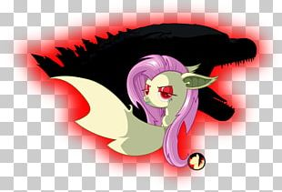 Fluttershy Godzilla Dragon Cutie Mark Crusaders Fire Breathing PNG