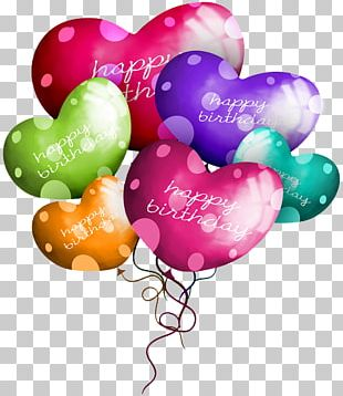 Happy Birthday To You Balloon PNG