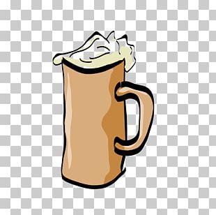 Lager Beer Glasses Mug PNG