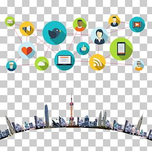 Social Media Communication Customer Relationship Management Icon PNG