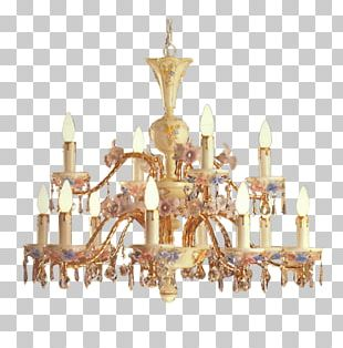 Chandelier Candle Light Fixture Living Room PNG