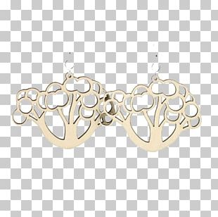 Earring Body Jewellery Necklace Silver PNG