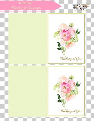 Floral Design Paper Greeting & Note Cards Envelope Cut Flowers PNG