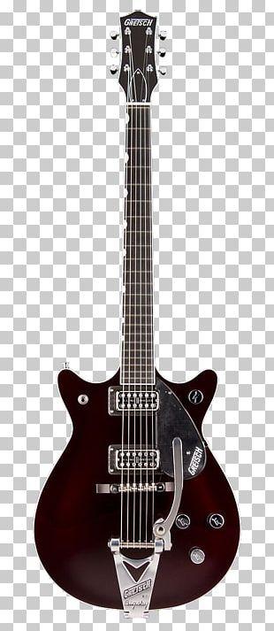 Gretsch 6128 Gibson Firebird Semi-acoustic Guitar PNG