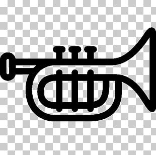 Trumpet Musical Instrument Icon PNG