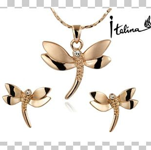 Earring Jewellery Gold Bijou Necklace PNG