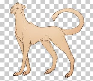Dog Breed Cat Line Art Tail PNG