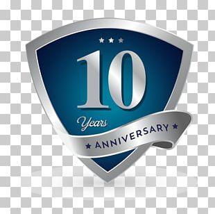 Logo Computer Icons Badge Anniversary PNG