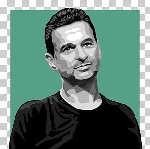 Dave Gahan Depeche Mode Devotional Tour Art PNG