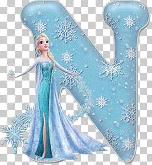 Elsa Olaf Anna Letter B PNG