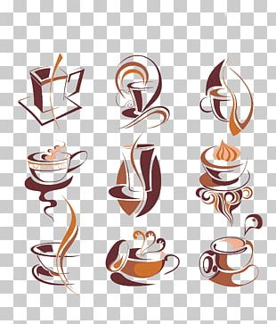 Hand-painted Coffee PNG