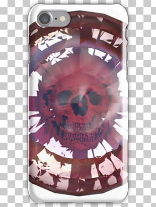 Pink M Skull Mobile Phone Accessories RTV Pink Font PNG