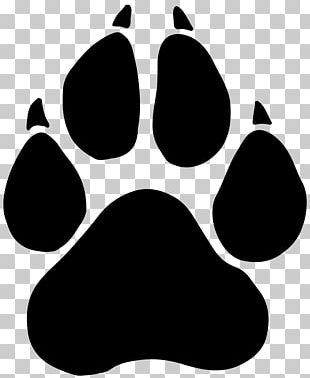 Black Panther Paw Dog PNG