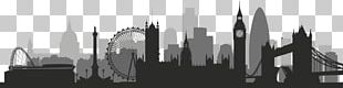 Skyline Silhouette Stock Photography PNG