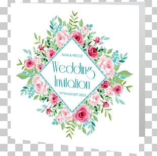 Wedding Invitation Floral Design Greeting & Note Cards PNG