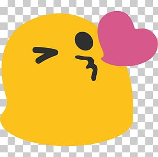 Emoji Android Kiss Smiley Emoticon PNG