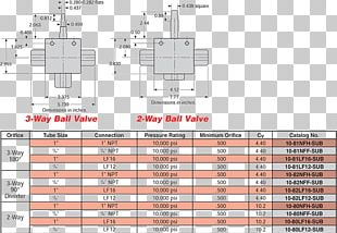 Ball Valve Hydraulics Subsea Trunnion PNG