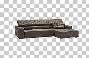 Chaise Longue Sofa Bed Angle PNG