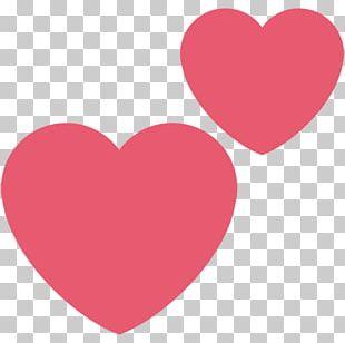 Emoji Heart Sticker PNG