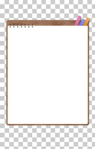 Paper Text Frame Yellow Pattern PNG