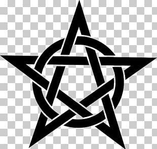 Pentagram Pentacle Star Wicca PNG