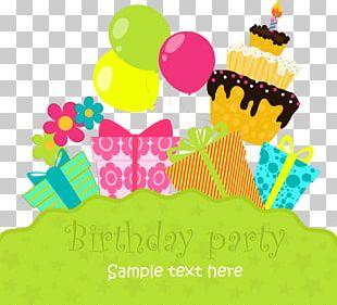 Birthday Cake Greeting Card Birthday Card PNG