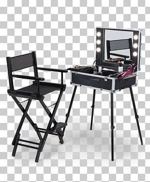 Cosmetics Make-up Artist Director's Chair Fashion Beauty Parlour PNG