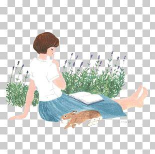 Drawing Art Girl Illustration PNG