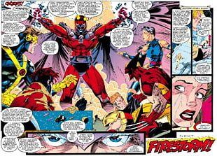 Professor X Magneto X-Men: Mutant Genesis Psylocke PNG